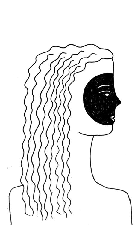 Mask - illustration, mask, lineart - olga_msk   ello