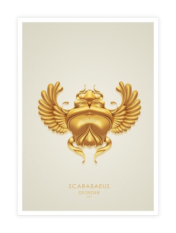 Scarabaeus - #illustration, #vector - dsorder | ello