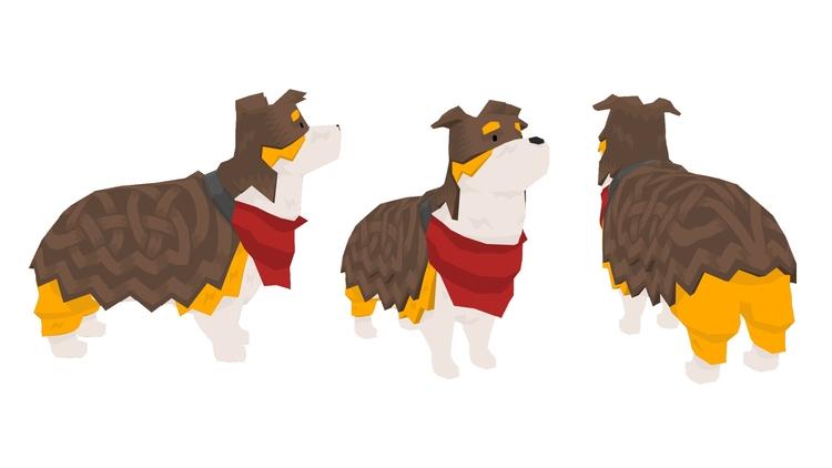 sheepdog - characterdesign, conceptart - colinbrown-7810 | ello