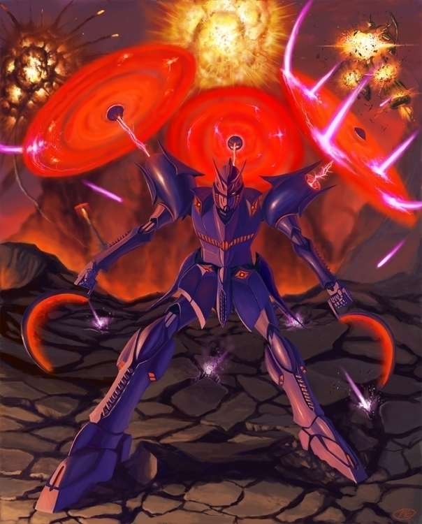 invented Gundam design- call Ha - viperxmns | ello