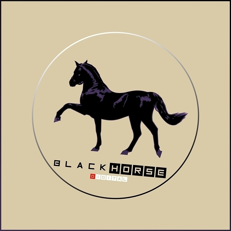 Black Horse Digital - animal, horse - zelko-4504 | ello