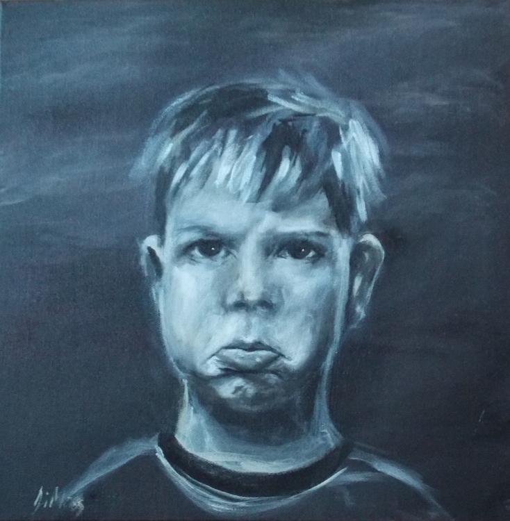 Jack acrylic canvas - jimoss31   ello