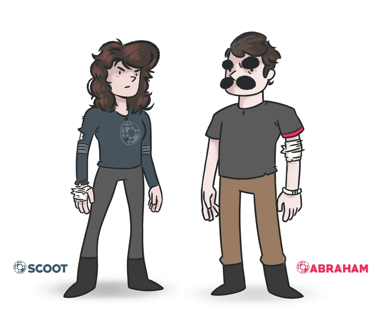 characters - PlanetGraveyard, illustration - colinbrown-7810   ello