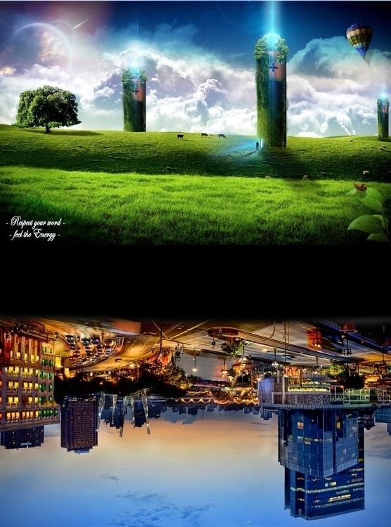 conceptart, environment, #digitalart#drawing#art#drawing#acrylic#paint#collage - davidechieppa | ello