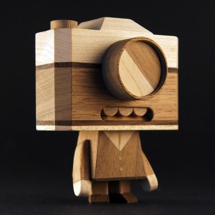 Dr.Iso Handmade wooden toy - handmadediywoodwoodentoyrobotcharacterdesignfigures - louloutummie | ello