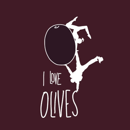 love Olives - illustration, drawing - sophiedut | ello