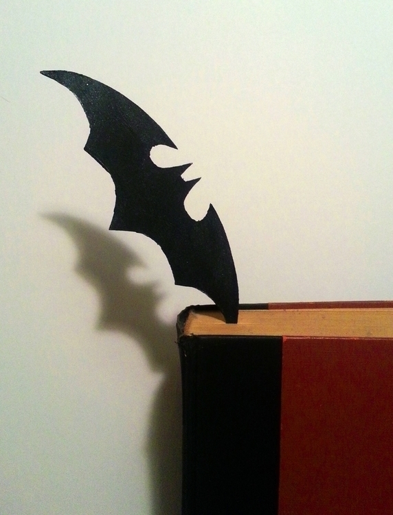Batarang bookmark; birthday pre - viperxmns | ello