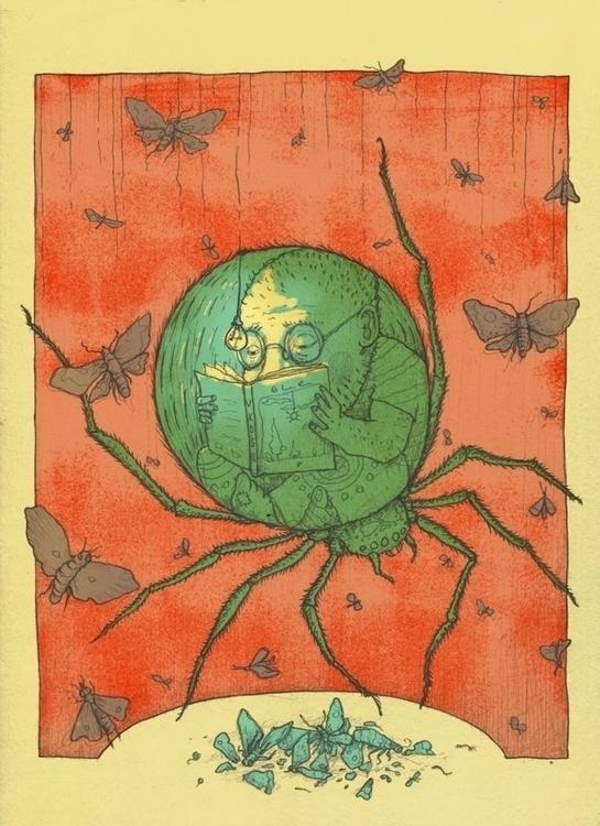 Spider - illustration, spider, spiderman - vk050 | ello