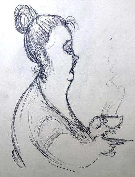 scones delicious - sketch, sketchbook - johnoconnell-1072 | ello