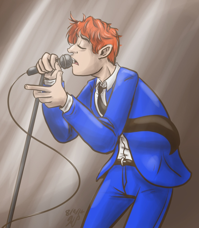 Gerard - illustration, gerardwayandthehormones - kelsbugproductions | ello
