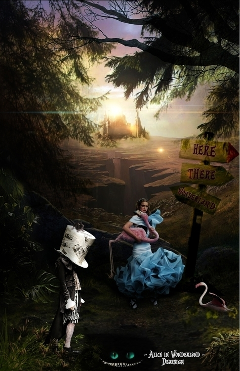Lost Forest - Alice wonderland - davidechieppa | ello