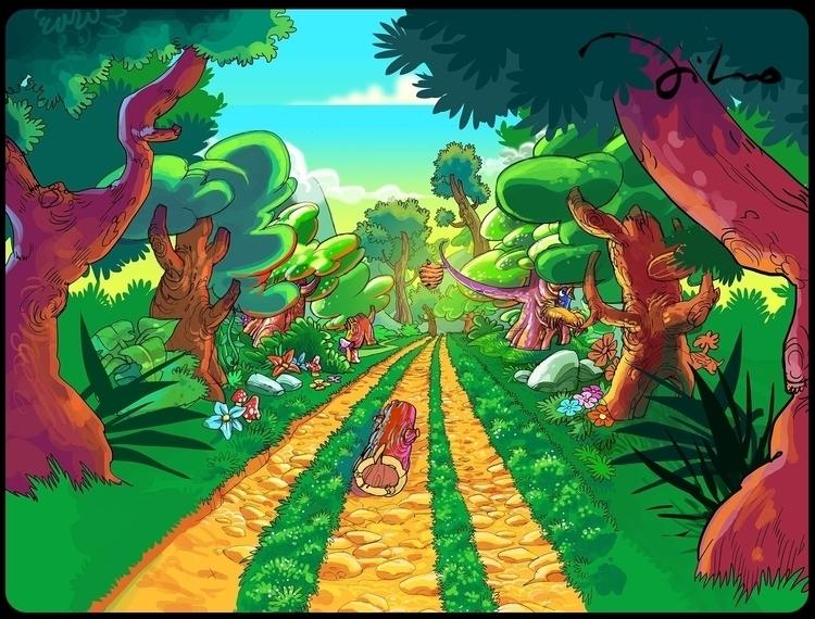 Game layout - illustration - tiho-3213 | ello