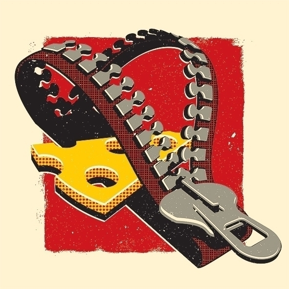 ZIP trap - #illustration, #ZIP, #trap - maxter-3164 | ello