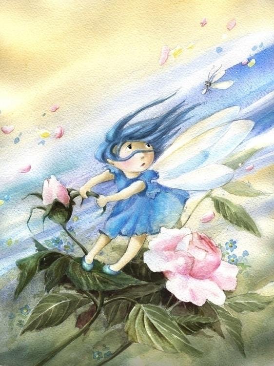 Mia Fairy. Tales Lofoten - illustration - joannapasek | ello