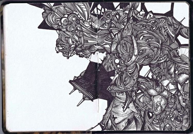 010814 - illustration, drawing, Doodlin' - murdoch-7175   ello
