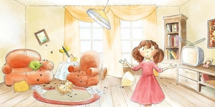 Friends - illustration, children'sillustration - joannapasek | ello