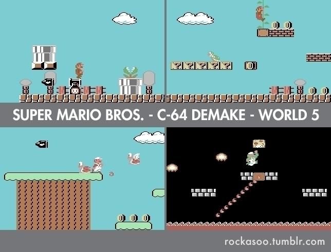 World 5 C64 Super Mario Bros. D - rockasoo | ello