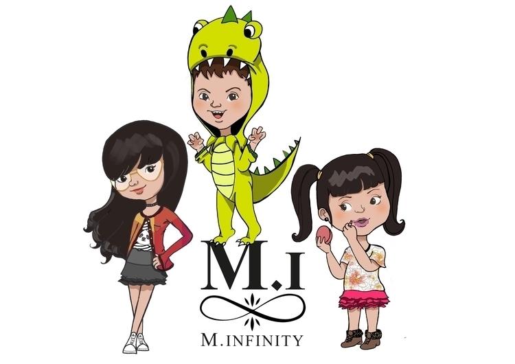 2015/ Character design Infinity - gabrielamolinaro | ello