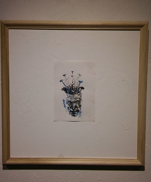 drawing, art, ink, contemporaryart - gabrielbroady | ello