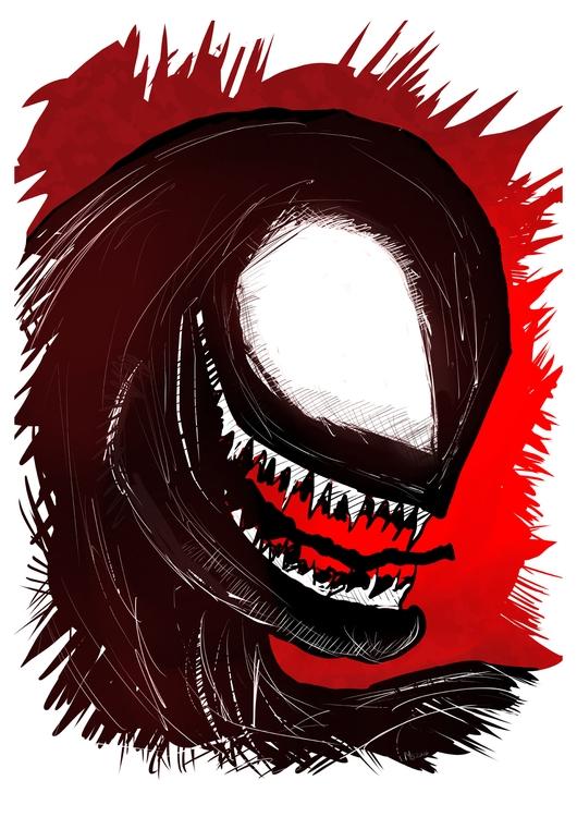 Venom - illustration, venom - marksolario | ello