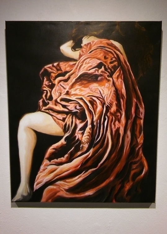 painting, figurative, clothes - gabrielbroady | ello