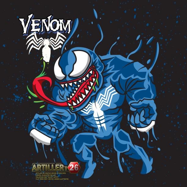 Venom fan art - venom, spider-man - artillery26 | ello