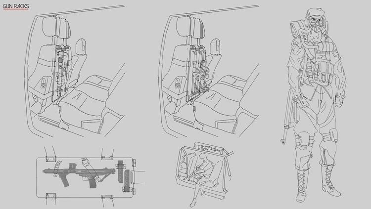 conceptart, conceptdesign, design - will_jinho_bik | ello