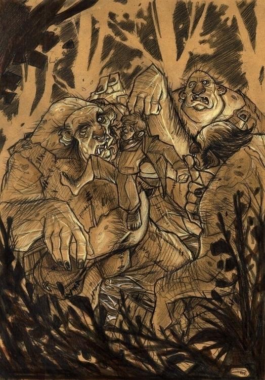 Hobbit - Trolls - trolls, denismedri - denismedri | ello