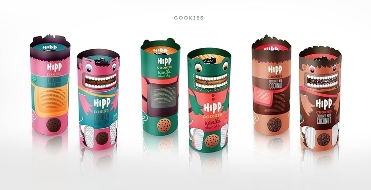 HIPP COOKIES - illustration, design - ivana-7596 | ello