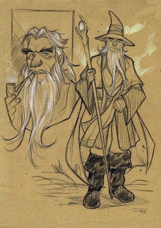 Hobbit - Gandalf - denismedri, gandalf - denismedri | ello