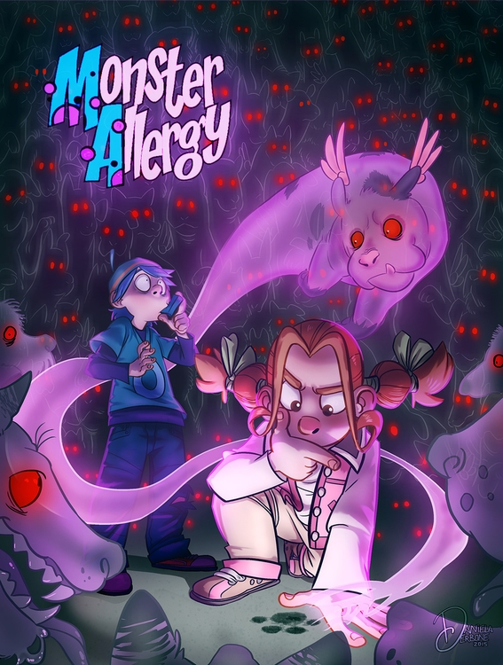 fan work Monster Allergy - monsterallergy - raccoon-7080 | ello
