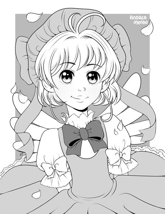 Sakura - illustration, drawing, digitalart - andymendo | ello