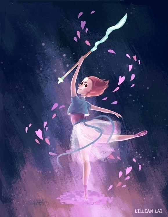 Pearl - stevenuniverse - lillisketch   ello