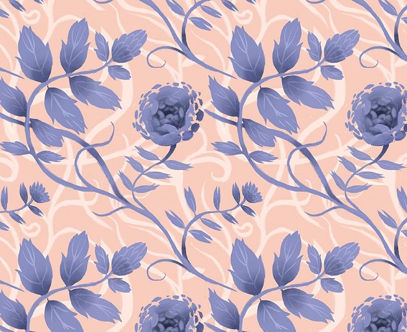 Floral Pattern - pattern, patterndesign - nicolexu-8498 | ello