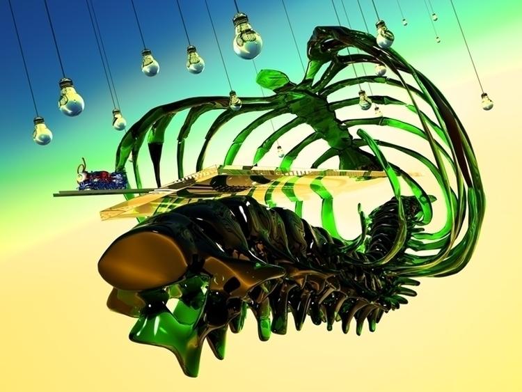 DEPARTURE Fine art giclee mount - enricolambiase | ello