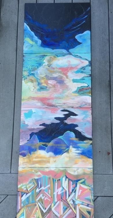 Heavenly Wayward Archetype - paint - sleepyvolf   ello