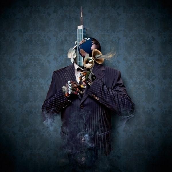 Blue - illustration, bobpalmer, photomanipulation - bobpalmer | ello