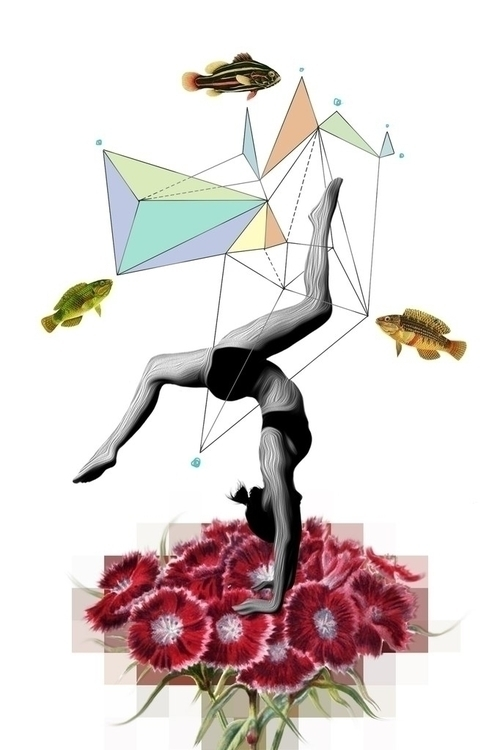 illustration, geometric, yoga - marvellous-1264 | ello