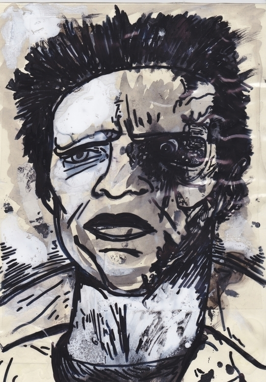Arnie - illustration, Terminator - murraysomerville   ello