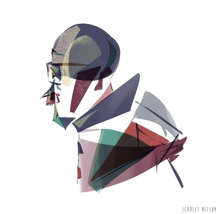 drawing, sketch, illustration - scarletnelson | ello