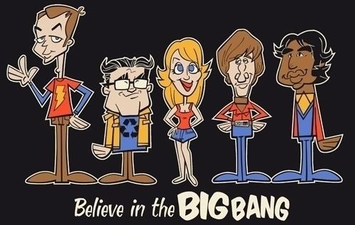 Big Bang Theory - illustration, characterdesign - fritsch-2365 | ello