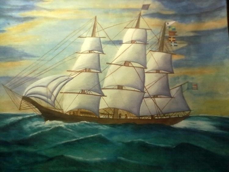 SAILING SMOOTH - Original water - neeruart | ello