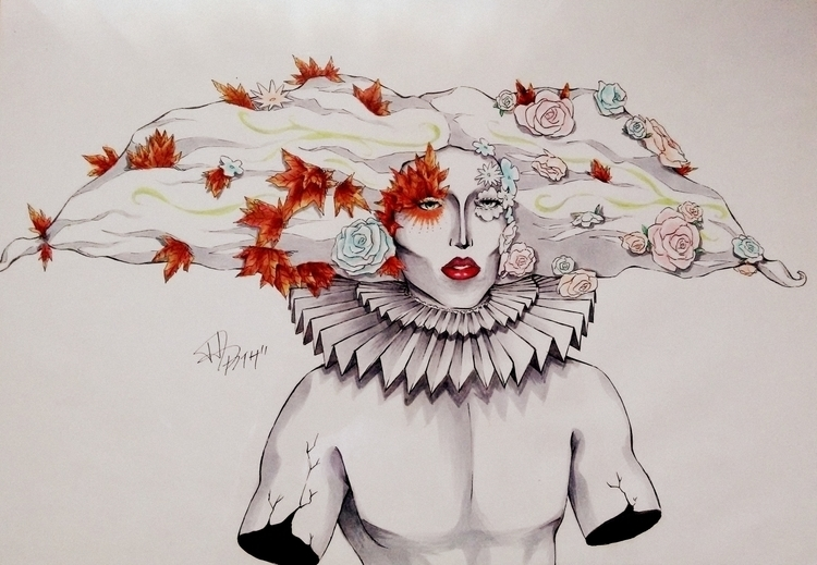 Acid Betty. -Drag Queen Illustr - kaizapissarro   ello