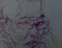 drawing, penink, gesturedrawing - gabrielbroady | ello