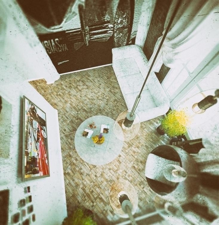 parquet_3 corona render, PS - #parquet#coronarender#3dsmax#interior#?????#???????#???? - artemroy | ello