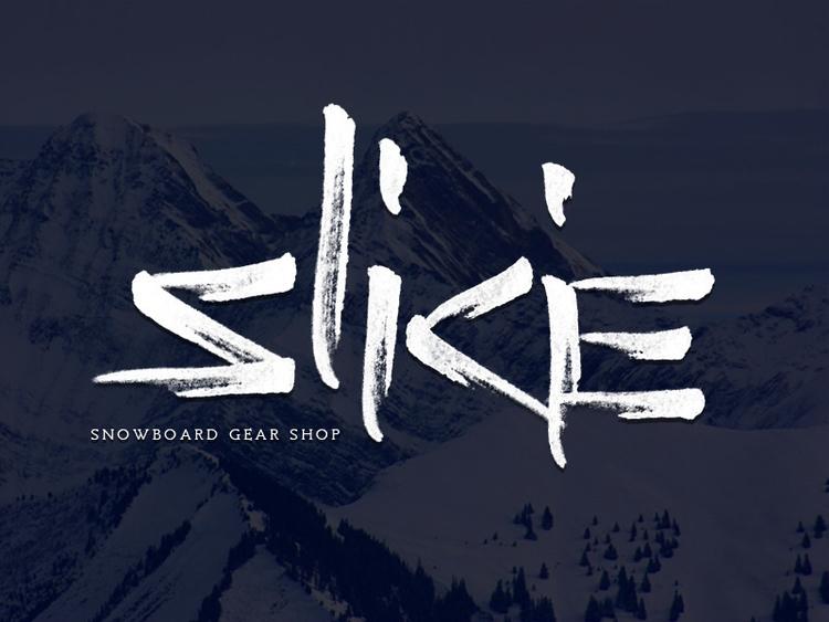 Logo snowboarding gear shop - snowboard - nikitadikiy | ello