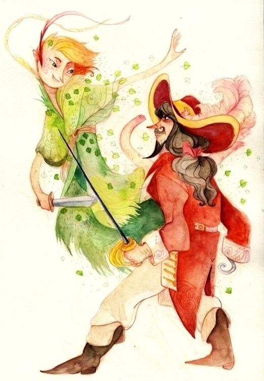 Peter Pan illustration friend  - chechula | ello