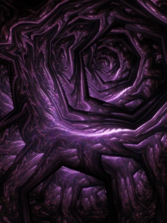 Fractal, Apophysis - fractal, fractalart - yourmung | ello
