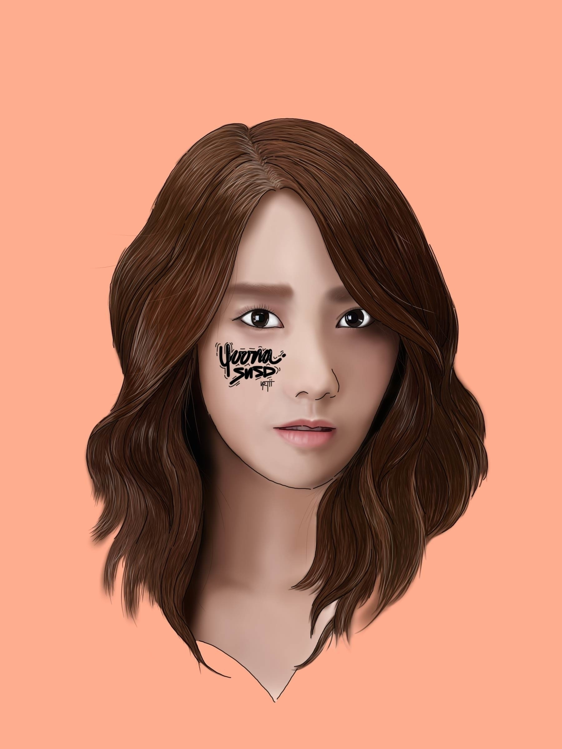 YOONA | SNSD - illustration, drawing - netys | ello