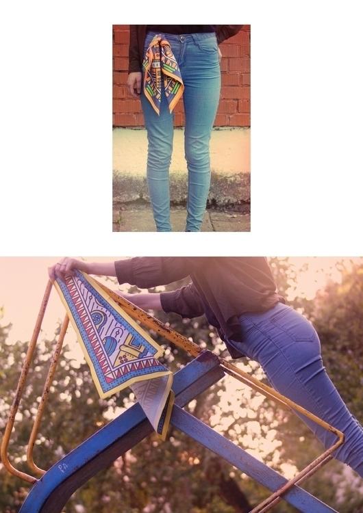 scarf / photography patterns - childhood - laurita_potapova | ello